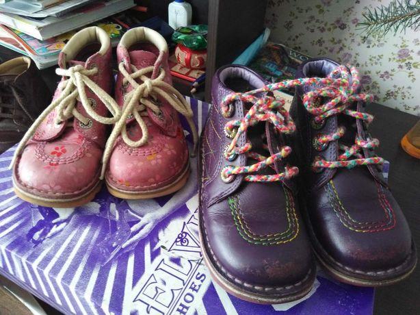 Детские ботинки Kickers 26 и 27 размер