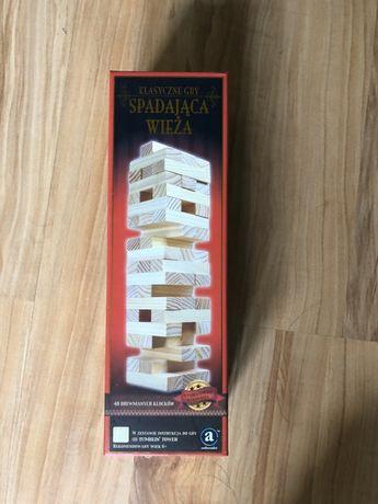Drewniane klocki Spadająca wieża