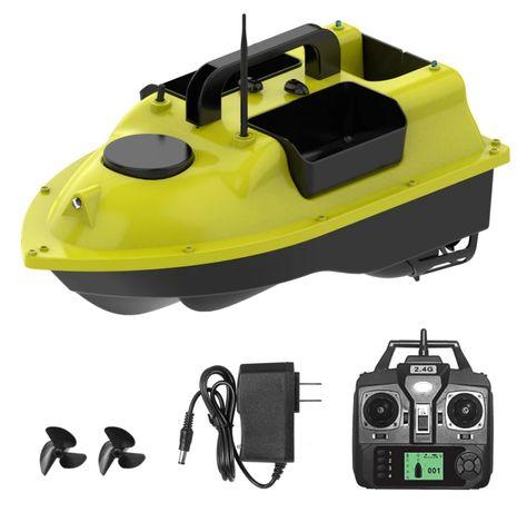 Łódka zanętowa z GPS -trzy komory-zestaw akcesoriów - NOWA!!!