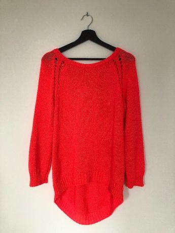 Piękny neonowy sweter Zara rozm. L
