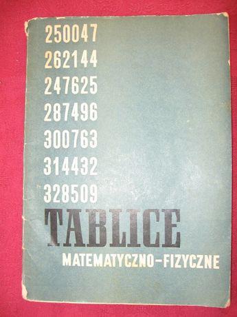 Żmigrodzka, Grykałowski. Tablice matematyczno-fizyczne.