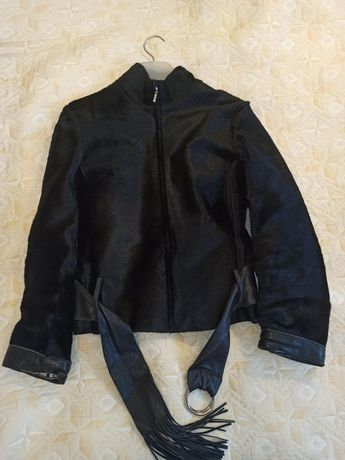 Кожаная куртка, 44 размер
