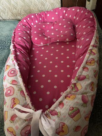 Продам кокон для новорожденого