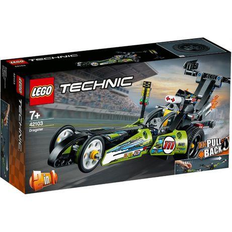 LEGO Technic 42103 Dragster - NOVO