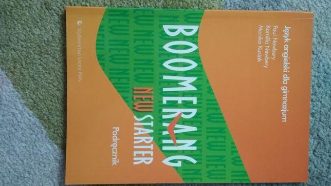 Boomerang new starter, podręcznik PWN, nowy