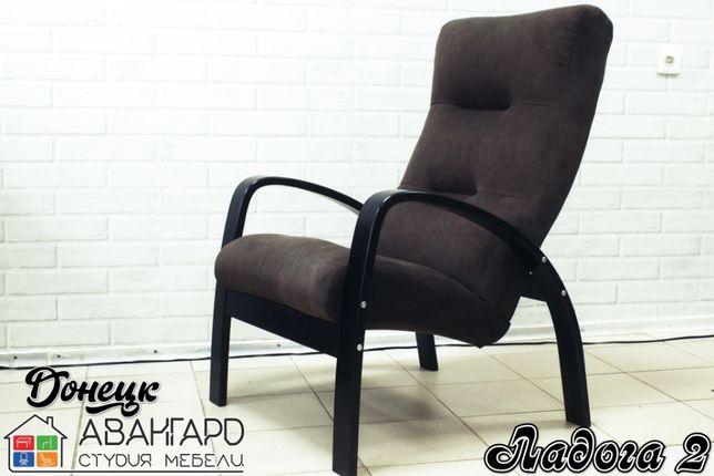 """Велюровое кресло для отдыха в гостиную / спальню """"Ладога 2"""""""