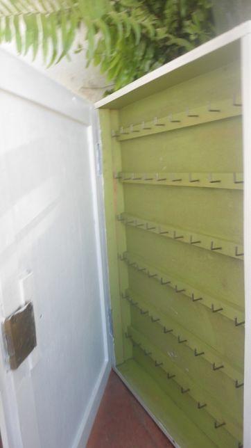 chaveiro caixa guarda chaves em madeira