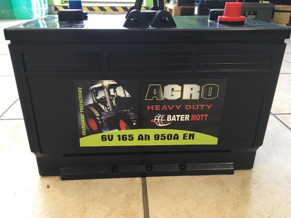 Akumulator BATERMOTT 165Ah 950A dla rolnictwa!!! Najniższa cena!!! Krapkowice - image 1