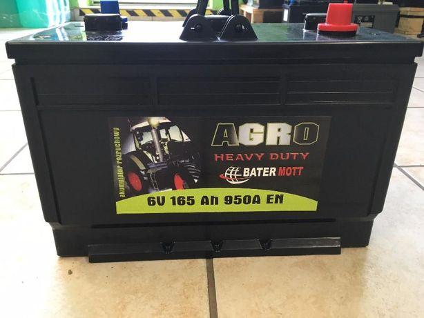 Akumulator BATERMOTT 165Ah 950A dla rolnictwa!!! Najniższa cena!!!