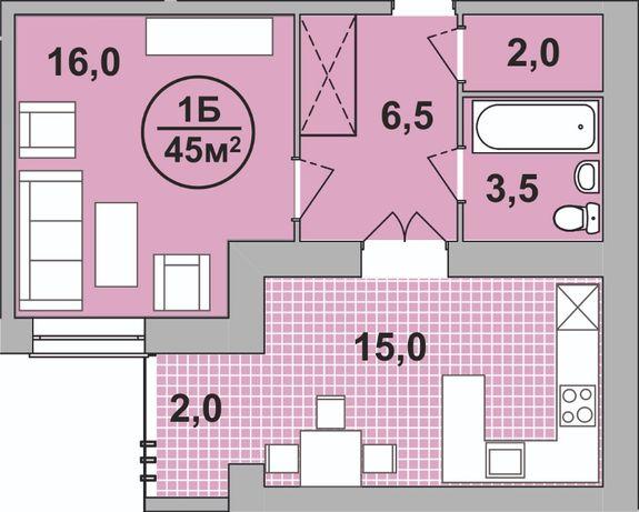Продам, 1-кімн., 4пов., Центр, Бандери-Височана, р-н драм театру