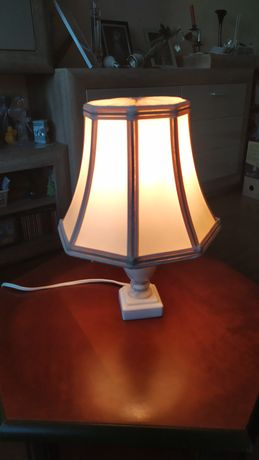 Lampa z alabastru vintage