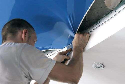 изготовление и монтаж натяжных потолков