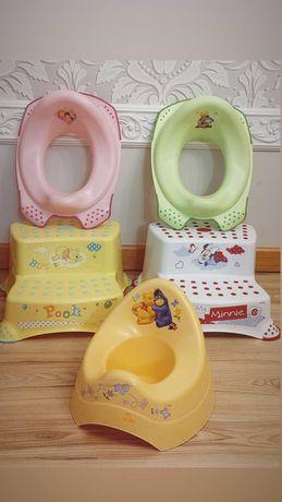 Podest stopień schodek podnóżek do łazienki nakładka na sedes nocnik