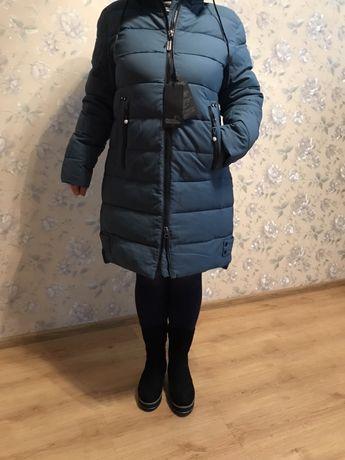 Женская зимняя куртка - пальто р 50-52