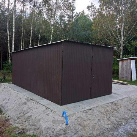 Garaż 3x5 w gatunku na budowę Magazyn Schowek garaż blaszany Raty
