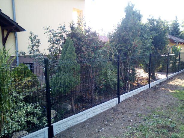 Kompletne Ogrodzenie Panelowe Panele Ogrodzeniowe---Zestaw do Montażu
