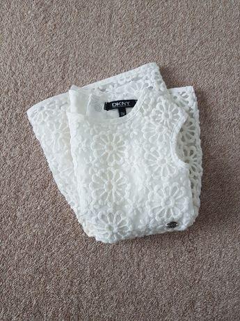Sukienka biała do chrztu DKNY jak nowa