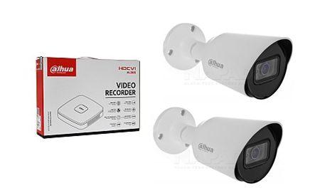 System monitoringu, rejestrator + kamery+dysk, zestaw, Dahua