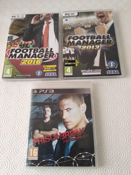 3 jogos para Playstation 3