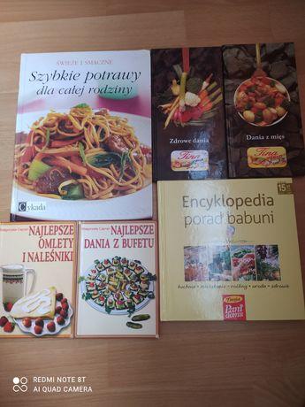 Książki kucharskie i inne