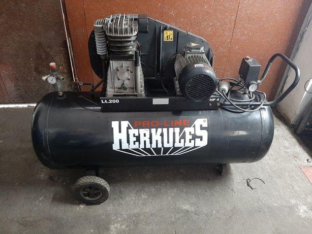 Sprężarka Herkules 200l