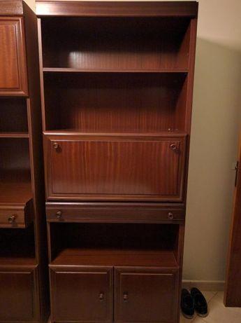 Mobília quarto (estúdio) cama, gaveta, módulos, escrivaninha