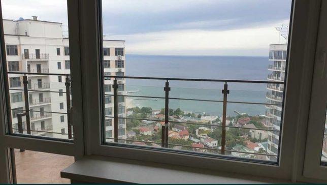 Квартира с террасой, вид моря прямо с кровати!Аркадия!BY