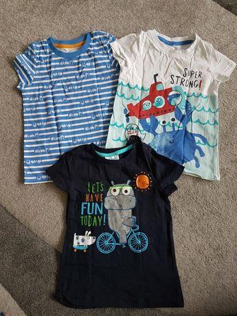 Koszulki chłopięce 92