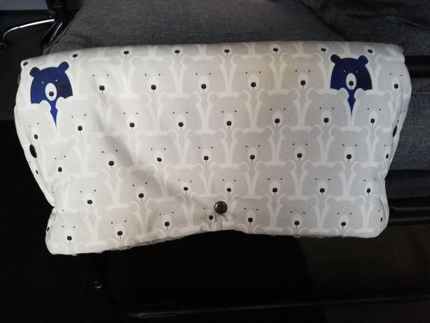 Mufka do wózka wodoodporna Dot&Panda handmade