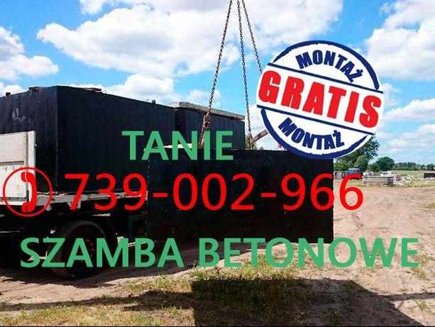 Zbiornik betonowy na ścieki deszczówkę gnojowice SZAMBO Beton B30-35