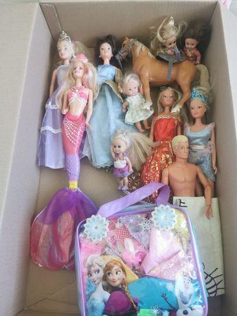 Zabawki Barbie, koń, Ken