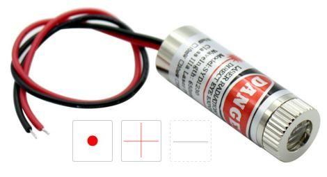 Módulo Diodo laser 5v - 3 peças