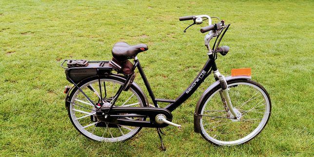 Rower z silnikiem spalinowym SAXONETTE Sachsa E-Start IGŁA