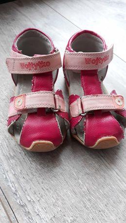 Sandały Sandałki dla dziewczynki 25