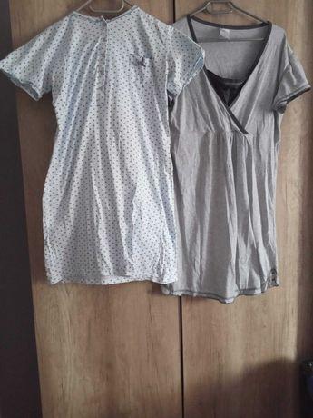 2x Koszula nocna do karmienia, porodu