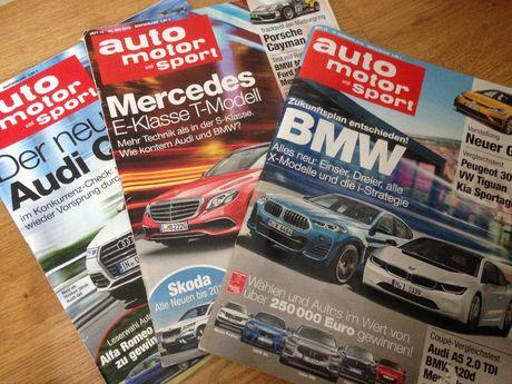 Auto motor sport 3 magazyny w j.niemieckim