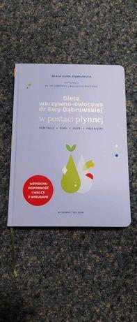 Dieta warzywno-owocowa dr Dąbrowskiej w postaci płynnej.