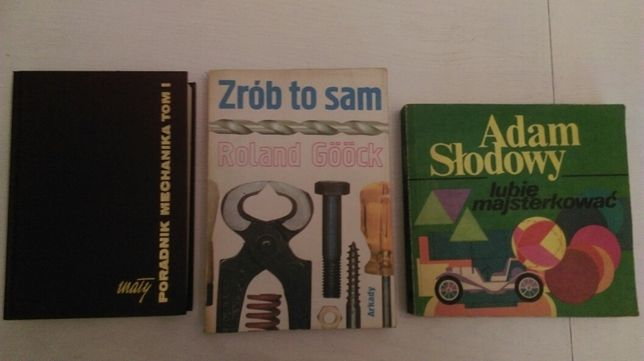 Zestaw książek dla majsterkowiczów