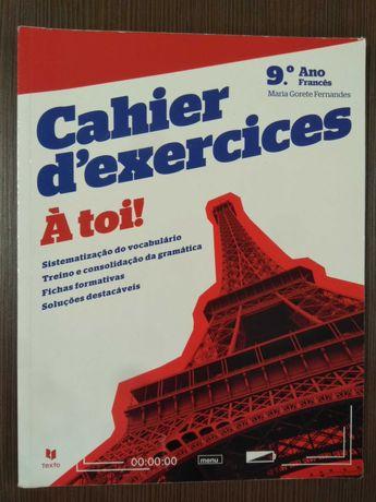 À toi! - Cahier d'exercices - Francês 9º Ano (Novo!)