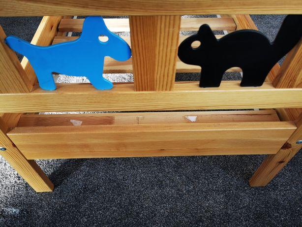 Łóżko dziecięce Ikea Kritter + gratis stelaż i materac