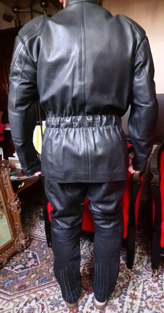 Męska kurtka motocyklowa i spodnie firmy Akito.