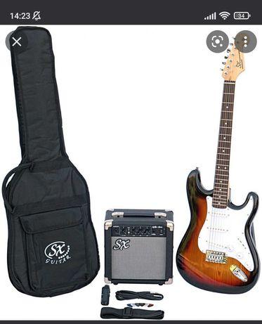 Sx Stratocaster e Amplificador