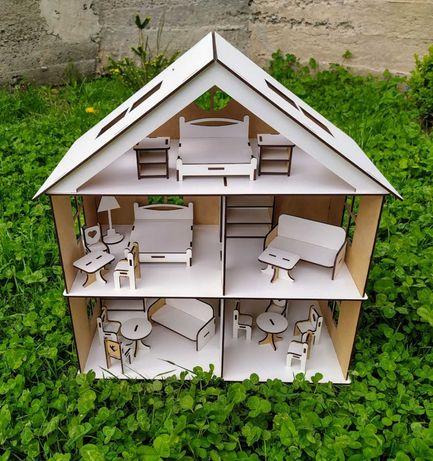 Домик игрушечный. Домик для кукол. Подарок ! Деревянный домик. Lol