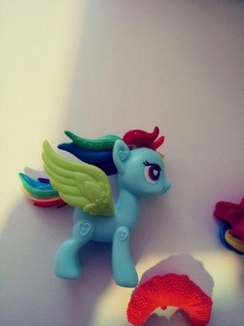 Kucyk Pony Rainbow dasch