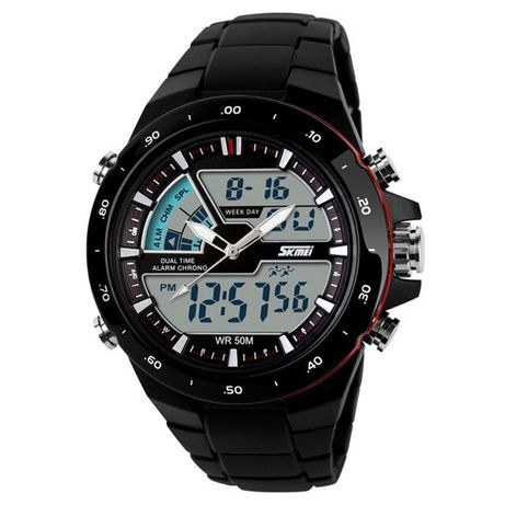 Часы Skmei 1016BOXBKRD Black/Red BOX