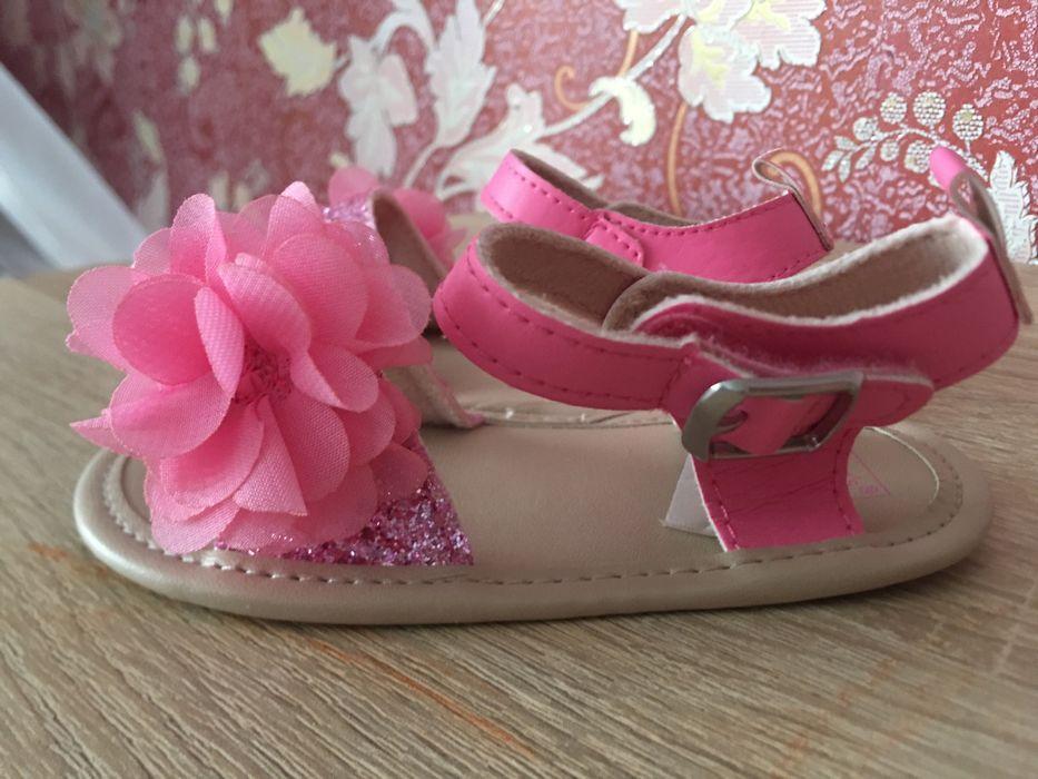 Красивые стильные сандалики Carters 9-12m Энергодар - изображение 1