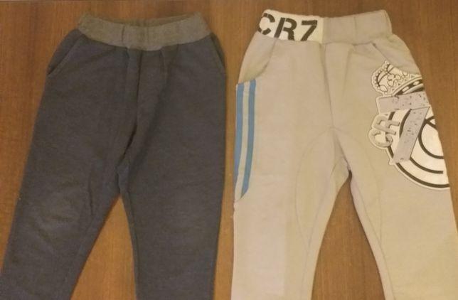 Spodnie chłopięce r. 98 - 104, 2 szt.