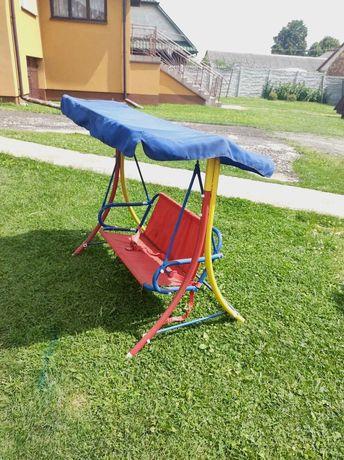 Huśtawka dla dziecka dwuosobowa ogrodowa