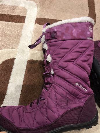 Зимние waterproof сапоги / ботинки Columbia для девочки