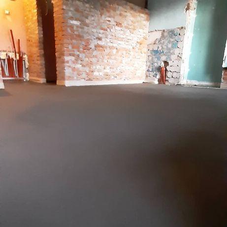 Напівсуха стяжка підлоги.